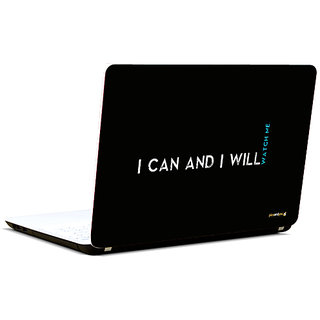 Pics And You Watch Me 3M/Avery Vinyl Laptop Skin Sticker Decal-SL007