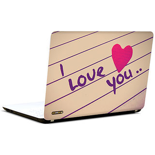 Pics And You I Love You  3M/Avery Vinyl Laptop Skin Sticker Decal-LV081