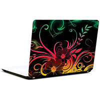 Pics And You Abstract Flower Pattern 3M/Avery Vinyl Laptop Skin Sticker Decal FL046
