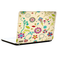 Pics And You Floral Pattern Abstract 3M/Avery Vinyl Laptop Skin Sticker Decal - FL049