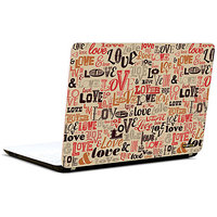 Pics And You Montage Love 3M/Avery Vinyl Laptop Skin Sticker Decal - TX042