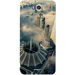 Casotec City Scapes Design Hard Back Case Cover for Infocus M530
