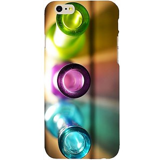 Casotec Light Bottles Design Hard Back Case Cover for Apple iPhone 6 / 6S