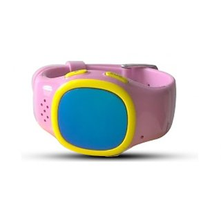 Traikoo Spatch Pink  phone in a watch for kids  with GPS tracker