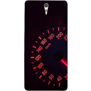 Casotec Speedometer Design Hard Back Case Cover for Sony Xperia C5 Ultra Dual