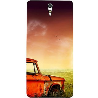Casotec Village Design Hard Back Case Cover for Sony Xperia C5 Ultra Dual