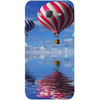 Casotec Air Ballon Design Hard Back Case Cover for Samsung Galaxy J2