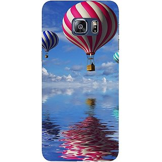 Casotec Air Ballon Design Hard Back Case Cover for Samsung Galaxy S6 edge Plus