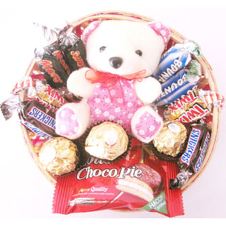 Gifts World Assorted Chocolate Basket