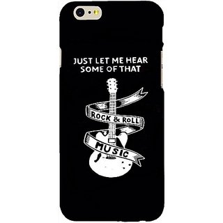 Casotec Rock And Roll Design Hard Back Case Cover for Apple iPhone 6 / 6S