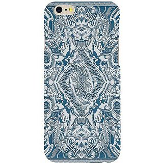 Casotec Dragon Design Hard Back Case Cover for Apple iPhone 6 / 6S