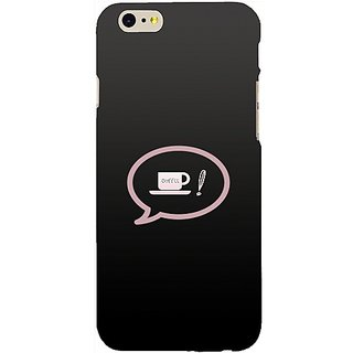 Casotec Love Coffee Design Hard Back Case Cover for Apple iPhone 6 / 6S