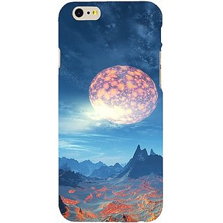Casotec Universe Design Hard Back Case Cover for Apple iPhone 6 / 6S