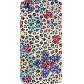 Casotec Penrose Tile Design Hard Back Case Cover for HTC Desire 816