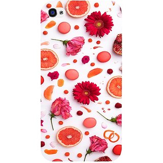 Casotec Fruits Design Hard Back Case Cover for Apple iPhone 4 / 4S