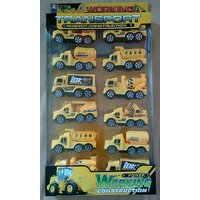 Construction Transport Vehicles Set Of 12