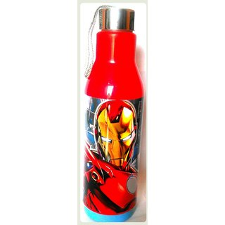 Ski Marvel Avengers Gift Set of 800 ML Blue Insulated Water Bottle