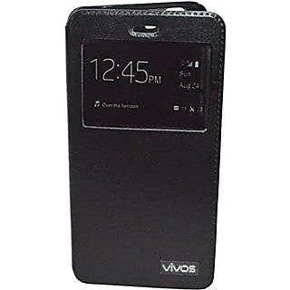 size 40 ccd7d 9265e Buy Vivo V1 Max Window Flip Cover Online @ ₹199 from ShopClues
