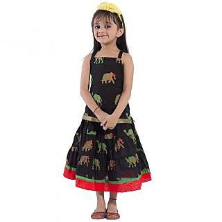 49e0f9cd5f Buy Decot Paradise Animal Print Girls Lehenga Choli Online - Get 62% Off
