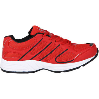 Smithsoul Red/Black Sport Shoes