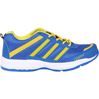 Smithsoul Blue/Yellow Sport Shoes