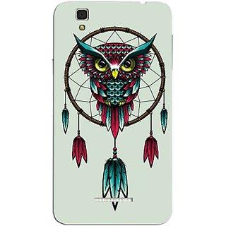 FurnishFantasy Back Cover for YU Yureka Plus (Multicolor) MOC-YU-Yureka-Plus-0576