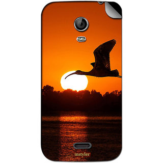 Instyler Mobile Skin Sticker For Micromax Canvas Turbo Minia200 MSMMXCANVASTURBOMINIA200DS-10015 CM-655