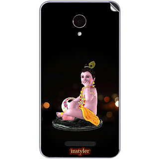 Instyler Mobile Skin Sticker For Micromax Canvas Dooble 4Q391 MSMMXCANVASDOODLE4Q391DS-10084 CM-5044