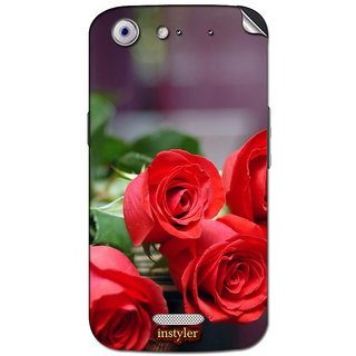 Instyler Mobile Skin Sticker For Micromax Canvas Gold A300 MSMMXCANVASGOLDA300DS-10081 CM-4241
