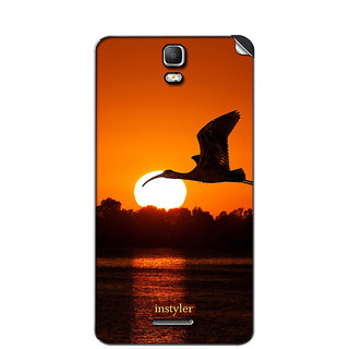 Instyler Mobile Skin Sticker For Micromax Canvas Hd Plus A190 MSMMXCANVASHDPLUSA190DS-10015 CM-3855