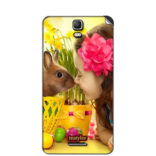 Instyler Mobile Skin Sticker For Micromax Canvas Hd Plus A190 MSMMXCANVASHDPLUSA190DS-10067 CM-3907