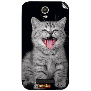 Instyler Mobile Skin Sticker For Micromax Canvas Juice 2Aq5001 MSMMXCANVASJUICE2AQ5001DS-10024 CM-3544