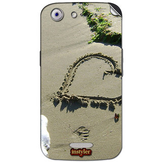 Instyler Mobile Skin Sticker For Micromax Canvas Gold A300 MSMMXCANVASGOLDA300DS-10105 CM-4265