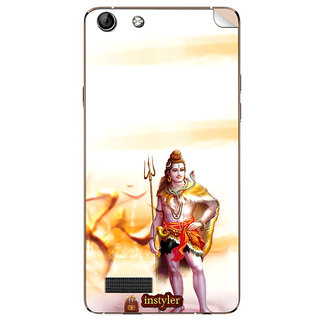 Instyler Mobile Skin Sticker For Micromax Canvas Hue Aq5000 MSMMXCANVASHUEAQ5000DS-10091 CM-3771