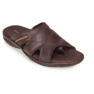 78dea559efc Buy Khadims Mens British Walkers Brown Leather Slip-on Online ...
