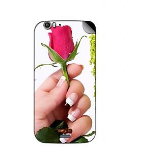 Instyler Mobile Skin Sticker For Micromax Canvas Turbo A250 MSMMXCANVASTURBOA250DS-10082 CM-882