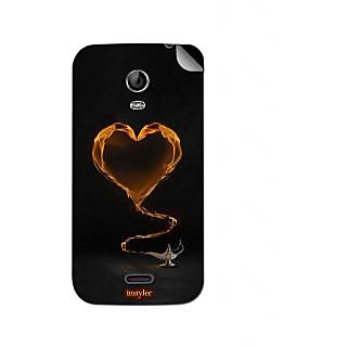 Instyler Mobile Skin Sticker For Micromax Canvas Turbo Minia200 MSMMXCANVASTURBOMINIA200DS-10130 CM-770