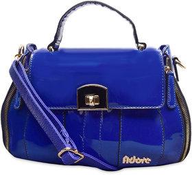 Adore London Blue Handbag (AL141225-Blue)