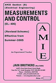AMIE - Electrical Engineering Section (B)  Measurements and Control (EL- 406)