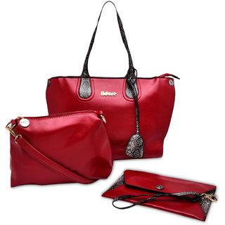 23c1e034f89c Adore London Red Handbag (AL20089E-Red)