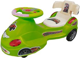 Suraj Baby matro train Shape With Back Support Musical Light MagicCarForYour kid