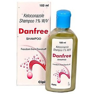 Cipla's Danfree Anti- Dandruff Shampoo- Pack Of 2