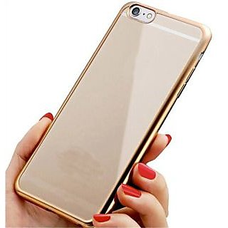 Snaptic Soft Electro Gold Plated Back Cover for Samsung Galaxy S6 Edge Plus