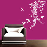 Kakshyaachitra Birds On Vines Wall Decal Wall Stickers
