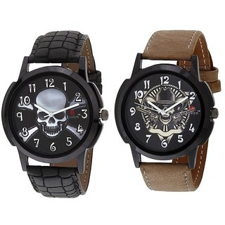 Evelyn Combo of 2 Men Watches EVE-380-384