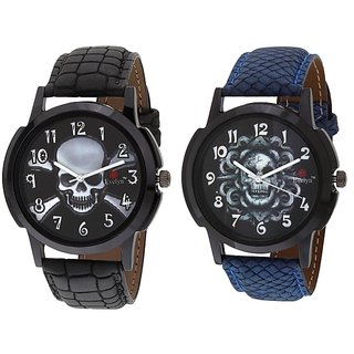 Evelyn Combo of 2 Men Watches EVE-380-385