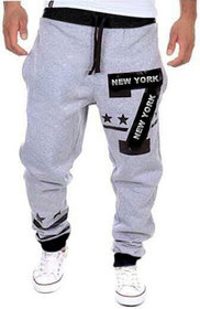 Trendyz Mens Track Pants With Zipper Pockets