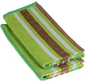 Green Color Towel