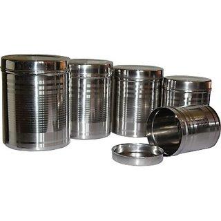 Suku - 3000 ml, 2000 ml, 1500 ml, 1250 ml, 1000 ml Stainless Steel Food Storage