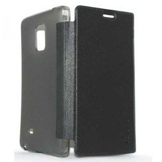 Snaptic Caidea Black Flip Cover for Lenovo A6010